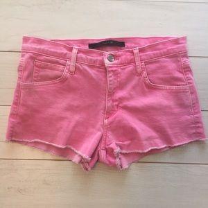 Joe's Jeans Women's Pink Shorts cut off Sz 28